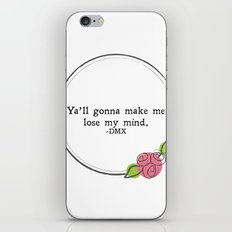 Floral - Lose My Mind iPhone & iPod Skin