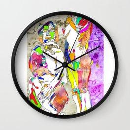 Acá estamos - Here we are Wall Clock