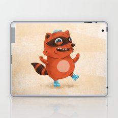 Rollerblade Raccoon Laptop & iPad Skin