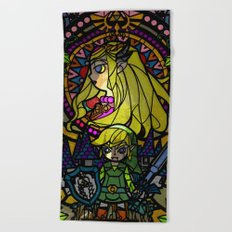 Sage of Time Beach Towel