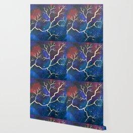Cosmic Lightning Wallpaper