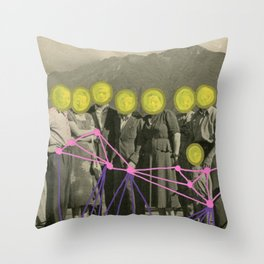 Get Right To The Point Throw Pillow
