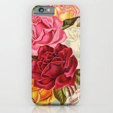 Antique Roses iPhone 6s Slim Case