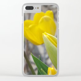 New Beginnings Clear iPhone Case