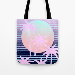 Hello Miami Moonlight Tote Bag