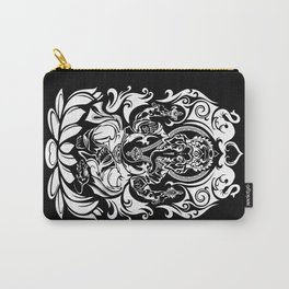 Tribal Ganesh (white) Carry-All Pouch
