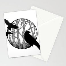 Black Birds II Stationery Cards
