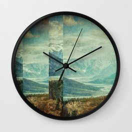 Fractions A25 Wall Clock