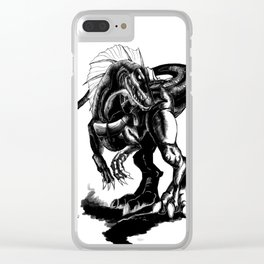 """Spinosaurus'' ready to attack Clear iPhone Case"