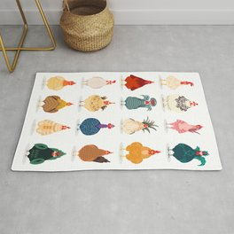 Cute Chicken Rug