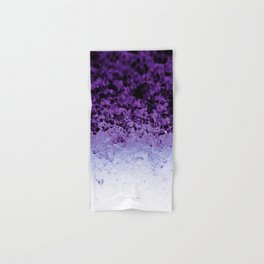 Purple Crystal Ombre Hand & Bath Towel