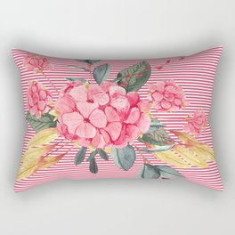Pretty in Pink Rectangular Pillow
