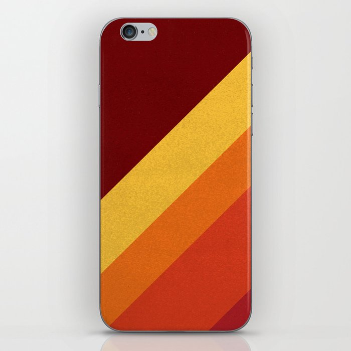 Retro 70s Color Palette II iPhone Skin