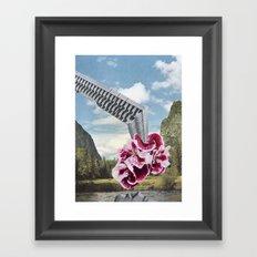 Lake Deposit Framed Art Print