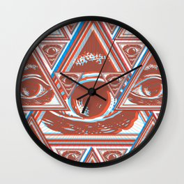 Bi-Partisan Wall Clock