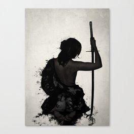 Female Samurai - Onna Bugeisha Canvas Print