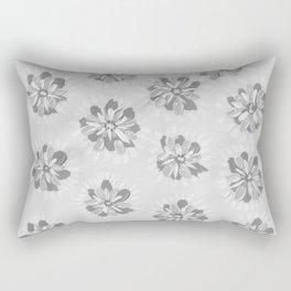 Cloud Petal Rose Rectangular Pillow
