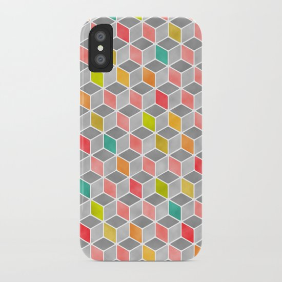 Block Party Bright iPhone Case