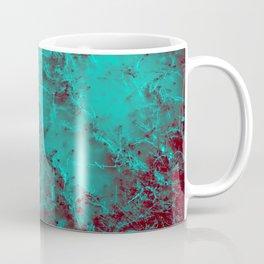Under the Sea | Teal + Red Coffee Mug