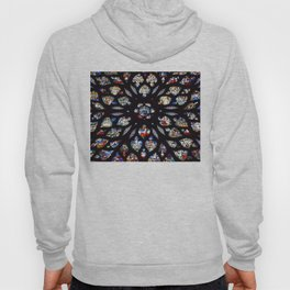 Stained glass sainte chapelle gothic Hoody