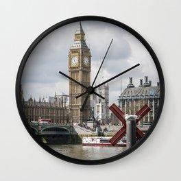 Big ben small bird Wall Clock