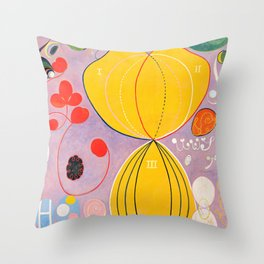 "Hilma af Klint ""The Ten Largest, No. 07, Adulthood, Group IV"" Throw Pillow"