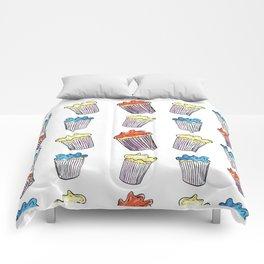 Sweet Tooth Cupcake Pattern Comforters