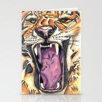 jaws Stationery Cards featuring Jaws by Heaven7