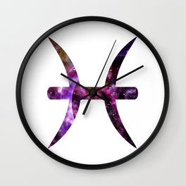 Galactic Pisces Wall Clock
