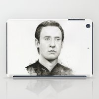 data iPad Cases featuring Star Trek: Data by Olechka