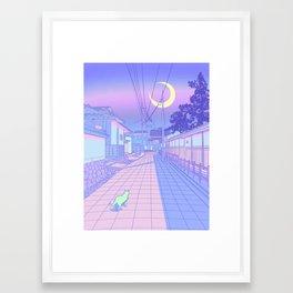 Kyoto Nights Framed Art Print