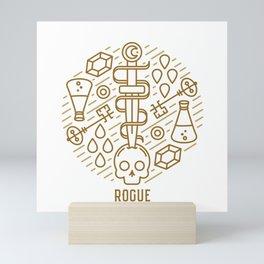 Rogue Emblem Mini Art Print