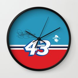 Richard Petty 43 NASCAR Wall Clock
