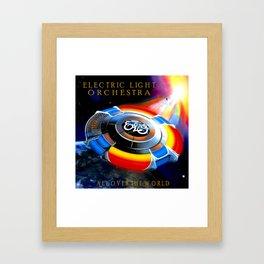 ELO ALBUM COVER Framed Art Print