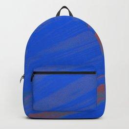 White Noise (Blue) Backpack