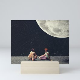 I Gave You the Moon for a Smile Mini Art Print