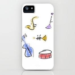 Minimalist Band iPhone Case