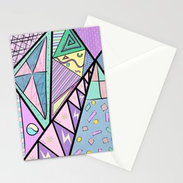 Ice cream mountains Stationery Cards