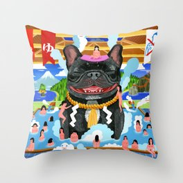 Super Sento Throw Pillow
