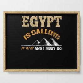 Egypt Travel Serving Tray