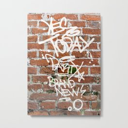 Yes Today Metal Print