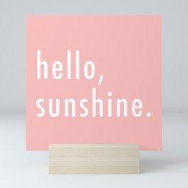 Hello Sunshine Mini Art Print