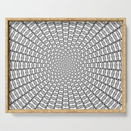 Hypnotic Critical Roll Illusion Serving Tray