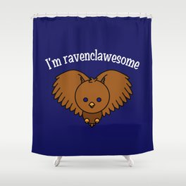 I'm Ravenclawesome Shower Curtain