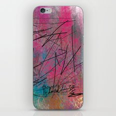 Facing Randomness. iPhone & iPod Skin