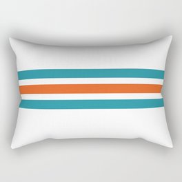 Retro #1 Rectangular Pillow