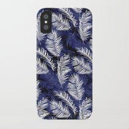 Indigo Palms iPhone Case