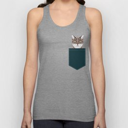 Sidney - Tabby Cat gifts for cat lovers cat ladies and cat person gifts perfect cat cell phone case Unisex Tank Top