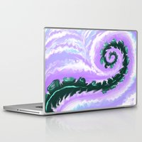 psych Laptop & iPad Skins featuring Psych Tentacle by ShinyKiiwii