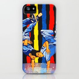 GARO - Twin dance iPhone Case